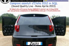 Punto Zacks - Team GM Campione Emma Open Doors SQL