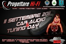 1° Car Audio e Tuning Day - Castello Brianza (LC)