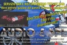 1°Tiffany - Sharan show in collaborazione con AUDIO & SPL - Livorno Ferraris (MI)